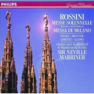 Image for 'Rossini: Petite Messe Solenelle/Messa di Milano'