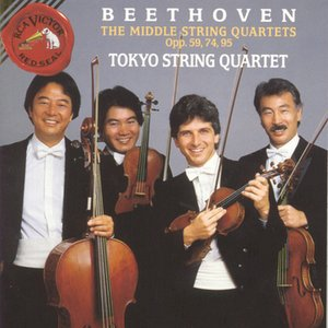 Image for 'Beethoven: Middle Quartets Opp. 59, 74, 95'