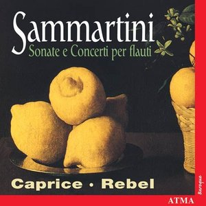 Image for 'Sammartini, G. / Maute: Chamber Music for Flute and Recorder'