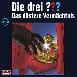 """""""118/Das düstere Vermächtnis""""的封面"""