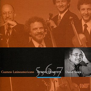 Image for 'David Stock: String Quartets'