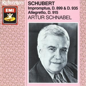 Image for 'Schubert: Impromptus. Allegretto D915'