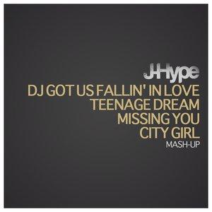 Bild für 'Usher DJ Got Us Falling In Love Katy Perry Teenage Dream Black Eyed Peas Missing You J-Hype City Girl'
