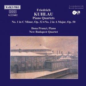 Bild für 'KUHLAU: Piano Quartets Nos. 1 and 2'