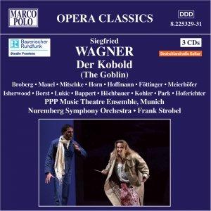 Imagem de 'WAGNER: Kobold (Der), Op. 3 (1903)'