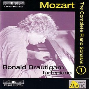 Image for 'MOZART: Complete Solo Piano Music, Vol. 1'