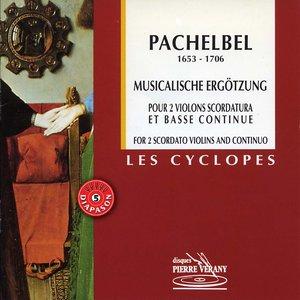 Bild för 'Pachelbel : Musicalische Ergotzung pour 2 violons & basse continue'
