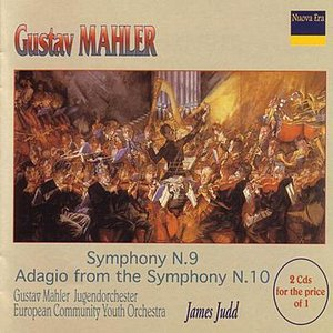 Image pour 'Gustav Mahler: Symphony N.9 / Adagio from the Symphony N.10'