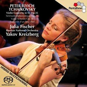 Image for 'TCHAIKOVSKY: Violin Concerto / Souvenir d'un lieu cher / Serenade melancolique / Valse - Scherzo'
