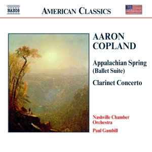Image for 'COPLAND: Appalachian Spring / Clarinet Concerto / Quiet City'