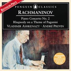 Bild för 'Rachmaninov: Piano Concerto No.2; Rhapsody on a Theme of Paganini'