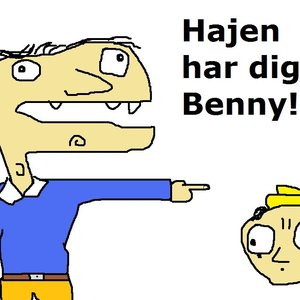 Imagen de 'Hajen har dig, Benny!'
