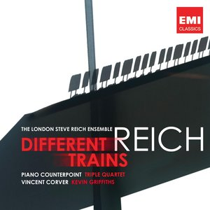 Imagen de 'Reich: Different Trains, Piano Counterpoint, Triple Quartet'