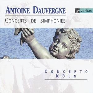 Image for 'Dauvergne - Concerts de simphonies'
