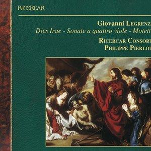 Image for 'Legrenzi: Dies Irae - Sonate a quattro viole - Motetti'
