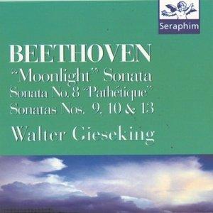 Imagem de 'Piano Sonatas 8, 9, 10, 13, 14 - Beethoven'
