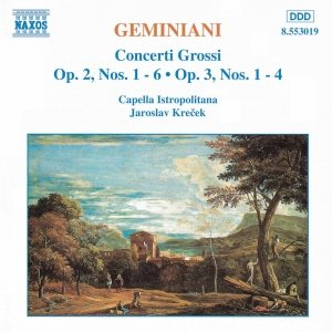 Image for 'GEMINIANI: Concerti Grossi, Vol.  1'