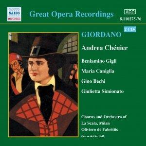 Image for 'GIORDANO: Andrea Chenier (Gigli, Caniglia) (1931)'