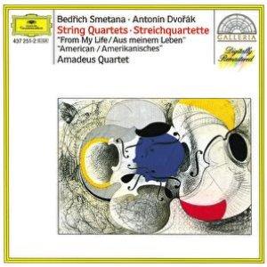 """Image for 'Smetana: String Quartett No.1 """"From My Life"""" / Dvorák: String Quartett No.12 """"American""""'"""