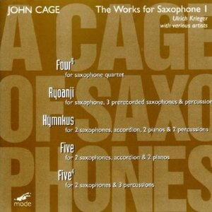 """Image for 'Cage: """"A Cage Of Saxophones""""'"""