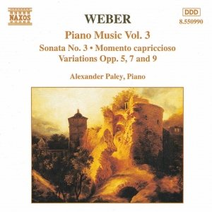 Image for 'WEBER: Piano Sonata No. 3 / Variations, Opp. 5, 7 and 9'