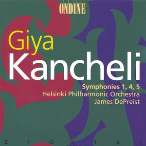 Immagine per 'Kancheli: Symphonies Nos. 1, 4 and 5'