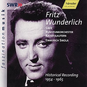 Image for 'Fritz Wunderlich - Historical Recording (1954-1965)'
