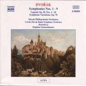 Image for 'DVORAK: Symphonies Nos. 1-9'