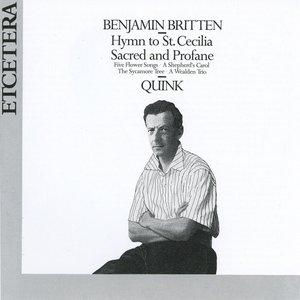 Imagem de 'Benjamin Britten, Hymn to St Cecilia, Sacred and Profan'