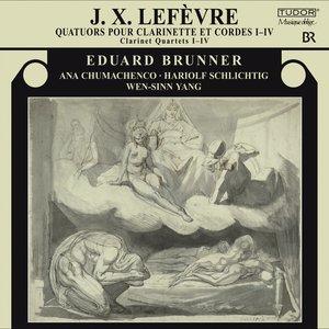 Immagine per 'Lefevre, J.X.: Clarinet Quartets Nos. 1-4'