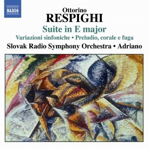 Imagem de 'RESPIGHI: Suite in E major / Symphonic Variations / Burlesca'