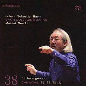 Image for 'BACH, J.S.: Cantatas, Vol. 38 (BWV 52, 82, 55, 58)'