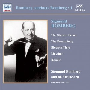 Image for 'ROMBERG: Romberg Conducts Romberg, Vol.  1 (1945-1951)'