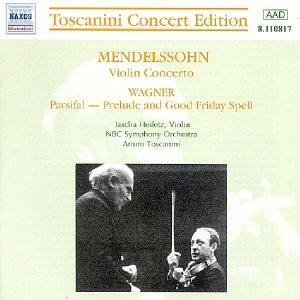 Image for 'MENDELSSOHN: Violin Concerto / WAGNER: Parsifal (Toscanini)'