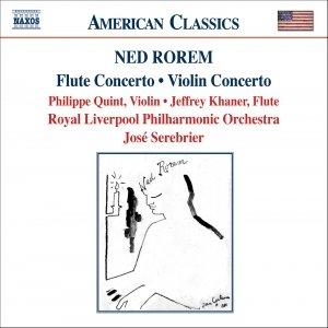 Image for 'ROREM: Violin Concerto / Flute Concerto / Pilgrims'