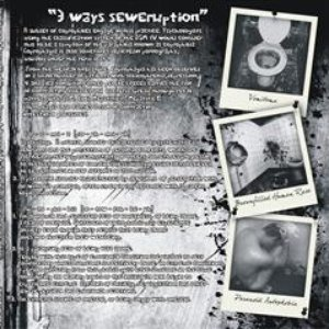 "Bild för '""3 ways seweruption"" split cd with Vomitoma/Brownfilled Human Race/Paranoid Autophobia'"