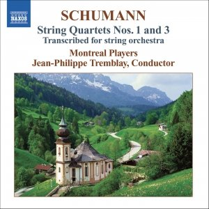 Image pour 'SCHUMANN: String Quartets Nos. 1 & 3 (arr. for string orchestra)'