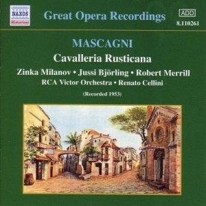 Image for 'MASCAGNI: Cavalleria Rusticana (Milanov, Bjorling) (1953)'