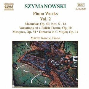 Image for 'SZYMANOWSKI: Piano Works, Vol.  2'