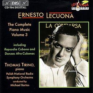 Image for 'LECUONA: Complete Piano Music, Vol. 3'