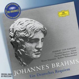 """""""Ein Deutsches Requiem Op.45""""的封面"""