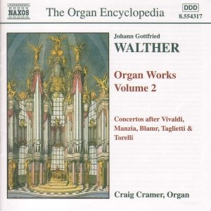Image for 'WALTHER: Organ Works, Vol.  2'
