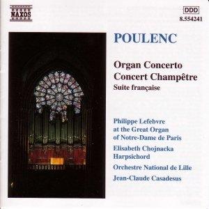 Image for 'POULENC: Organ Concerto / Concert Champetre'