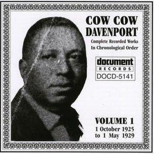 Imagem de 'Cow Cow Davenport Vol. 1 (1925-1929)'