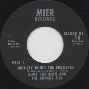 Image for 'Rudy Robinson & The Hungry Five'