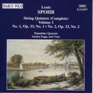 Image for 'SPOHR: String Quintets Op. 33, Nos. 1 and 2'