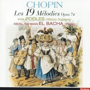 Bild für 'Frédéric Chopin : Les dix-neuf mélodies, Op. 74'