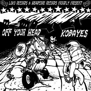 Image for 'split Kobayes/Off your head'
