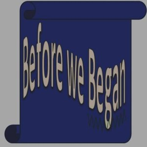 Image for 'Before we Began'