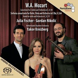 Image for 'MOZART: Sinfonia concertante, K. 364 / Concertone in C major, K. 190 / Rondo in C major, K. 373'
